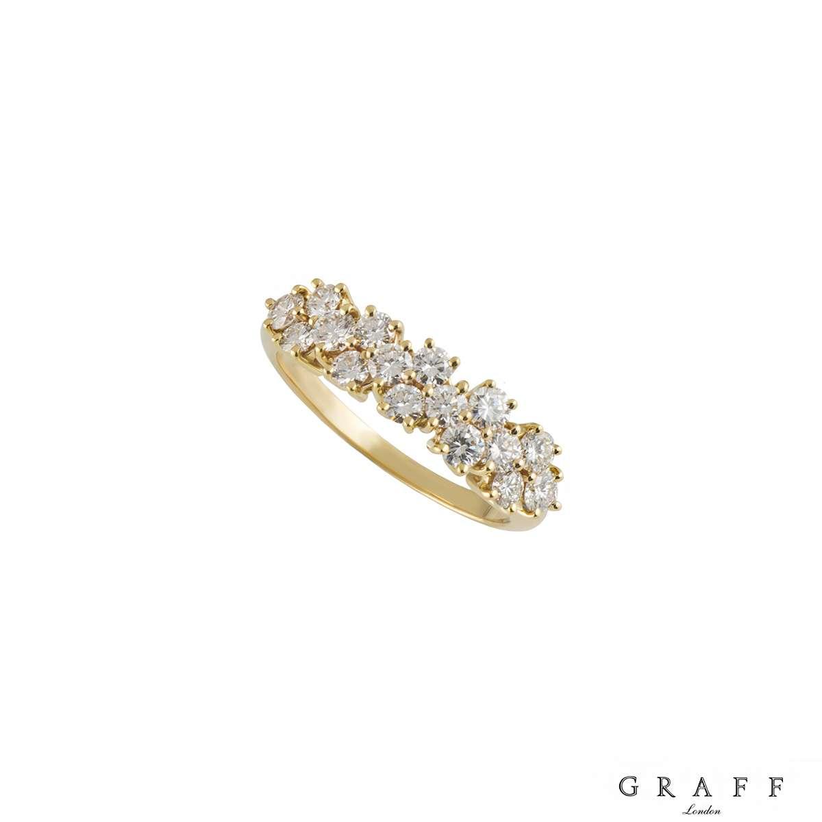 Graff Diamond Half Eternity Ring
